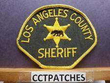 LOS ANGELES, CALIFORNIA DEPUTY POLICE CHEESE CLOTH SHOULDER PATCH CA