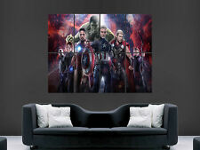 AVENGERS AGE OF ULTRON  GIANT WALL POSTER ART PICTURE PRINT LARGE HUGE