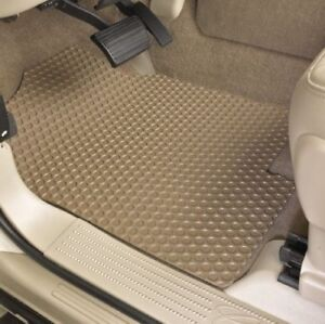 Lloyd RUBBERTITE 4pc All-Weather Floor Mat Set - 3 Rows - Choose from 12 Colors