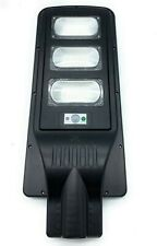 FARO LED SOLARE LAMPIONE STRADALE  90W CREPUSCOLARE 6000K ENERGIA SOLARE
