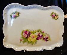 Floral Porcelaine Plateau-Victoria Austria