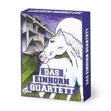Unicornio cuarteto alemán 32 cartas polvo de estrellas einhornquartett juego de cartas