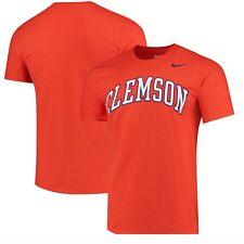 Clemson Tigers Nike Wordmark Fan Shirt NWT 2XL XXL Orange