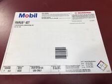 55 GALLON MOBIL RARUS 427 ISO VG 100 RECIP COMPRESSOR OIL NOS
