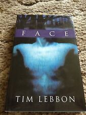 FACE Tim Lebbon 1st trade HC SIGNED BY AUTHOR & ARTIST  fine OUT OF PRINT