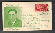 1949 Baile Ireland cover to USA Saint Patricks Day Eamon de valera Cachet