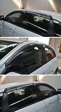 Window Visor Deflectors Guard Vent Shade For Mitsubishi Outlander Sport 2011-17