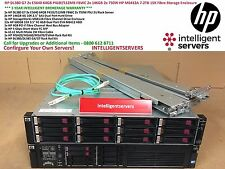 HP DL380 G7 2x E5640 64GB P410i 2x 146GB 2x 750W HP M6412A 7.2TB Fibre Enclosure