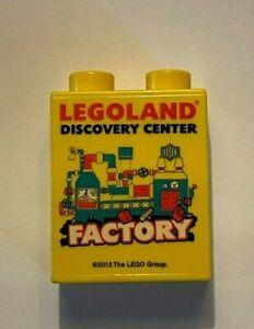 2012 Legoland Discovery Center Factory Duplo Brick Lego yellow