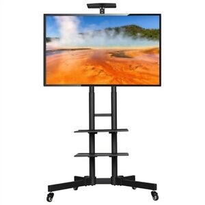 """Mobile TV Stand Home Mount Display Trolley Cart for 32""""-65""""Plasma/LCD/LED"""