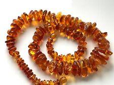 Natural Vintage Amber Beads Antique Baltic Old Necklace 43,94 gr.
