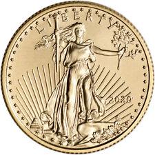2020 American Gold Eagle 1/4 oz $10 - BU