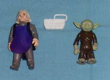 vintage STAR WARS FIGURE LOT #31 Ugnaught & Yoda