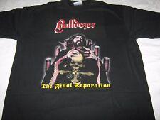 "BULLDOZER ""The Final Separation"" T - Shirt  hellhammer bathory sodom"