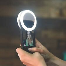 Clip On Selfie LED Ring Light Lamp for Mobile Phone Laptop Camera Photo Video
