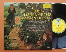 DG 135 014 lieberslieder de la época romántica Streich Dieskau Tulipán Estéreo casi como nuevo/EX
