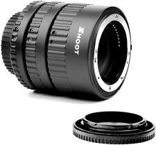 Auto Focus Ring Macro Extension Tube Set Close up Lens for Nikon DSLR Cameras