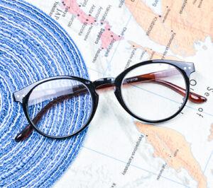Unisex Reading Glasses Light Weight Round Vintage Readers Eyeglass + 1.0~+4.0