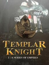 COO Models Empire Series Templar Knight Chain Mail Head Armour loose 1/6th scale