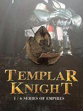 Coo Models Empire série Templier Chevalier cotte de mailles Head Armour loose échelle 1/6th
