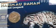 Yr 2003 Clouded Leopard Endangered Series Education Coin = OFFER