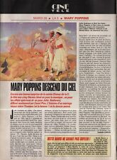 Coupure de presse Clipping 1991 Julie Andrews Dick Van Dyke Mary Poppins (1 pge)