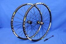 "New Mavic Crossride Disc 26"" Mountain Bike Wheelset -15mm Thru Front, 135QR Rear"