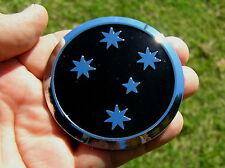 SOUTHERN CROSS BLACK EMBLEM - HOLDEN COMMODORE 70mm REPLACEMENT CAR BADGE *NEW!*