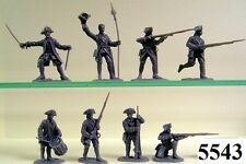 Armies In Plastic 5543  French & Indian  French Troupes  Figures/Wargaming Kit
