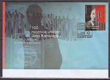 POLAND 2014  FDC SC#  100th Anniversary of the Birth of Jan Karski