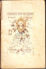C1 Etincelle CARNET D UN MONDAIN 1882 Illustre FERDINANDUS Marie BIARD PEYRONNY