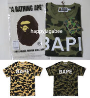 [S-3XL] A BATHING APE Men's 1ST CAMO BAPE TEE 2colors From Japan New