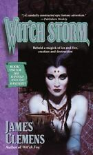 Wit'ch Storm (The Banned and the Banished #2) Clemens, James Mass Market Paperb