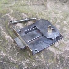 altes Einlegeschloss Möbelschloss Dornmaß 60mm Schubladenschloss 78x72mm