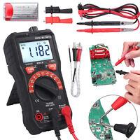 2000 Digital LCD Capacitance Multimeter Auto Range NCV hFE AC/DC Current Test