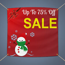 Up to 75% Off Sale Banner Outdoor Business Shop Advertising Vinyl Sign, 3' X 2'