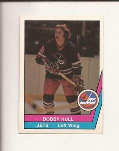 1977-78  OPC  WHA  # 50   BOBBY HULL   Winnipeg Jets   EX-MT