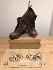 NPS SOLOVAIR Penny Brown 8 Eye Derby Boot! Size UK7! New! Only £149.90!!!