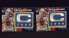 MATT HASSELBECK 2012 Topps Football LOT of  2  NFL CAPTAIN'S PATCH Cards #NCP-MH