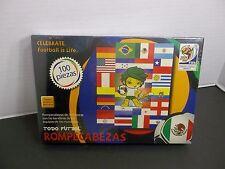 TODO FUTBOL ROMPECABEZAS 100 piezas SOUTH AFRICA 2010 FIFA SOCCER  PUZZLE  NEW!