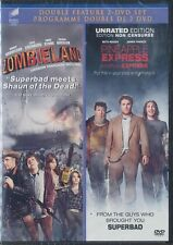 Pineapple Express (Unrated)/Zombieland (DVD, 2012, Canadian) BRAND NEW