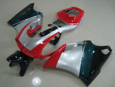 Silver/Red Black For Ducati 748 996 1996-2002 Injection Mold Bodywork Fairing