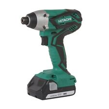 EX-DEMO HITACHI WH18DGL 18V IMPACT DRIVER 2 X 1,5AH BATTERIES, CHARGER