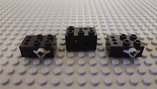 All 3 Sensors from Vintage Lego Dacta Set 9700 – Touch & Optical Sensors
