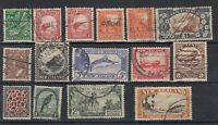 New Zealand 1935 Pictorial Set To 3/- (No 1 1/2d) SG556/569 Fine Used J8303