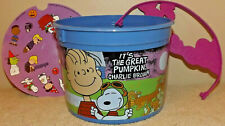 The Great Pumpkin 50th Anniversary McDonalds Happy Meal Bucket Halloween