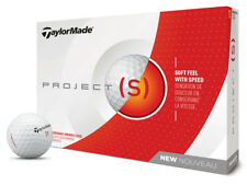 TaylorMade Project s Golf Balls White
