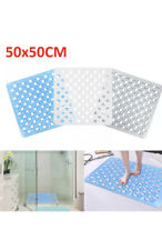 BLUE CANYON 55 X 55 CM NON SLIP RUBBER SHOWER BATH MAT WITH SUCTION CUPS GRIPS