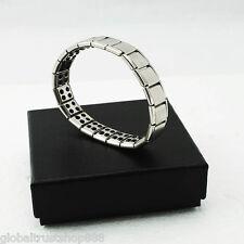 Titanium Health Bracelet Power Nano Energy Magnetic Balance Ion Powerf