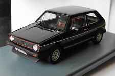 VW VOLKSWAGEN GOLF 1 GTI 1981 BLACK FACELIFT NEO 45555 1/43 NOIR LHD LEFT HAND